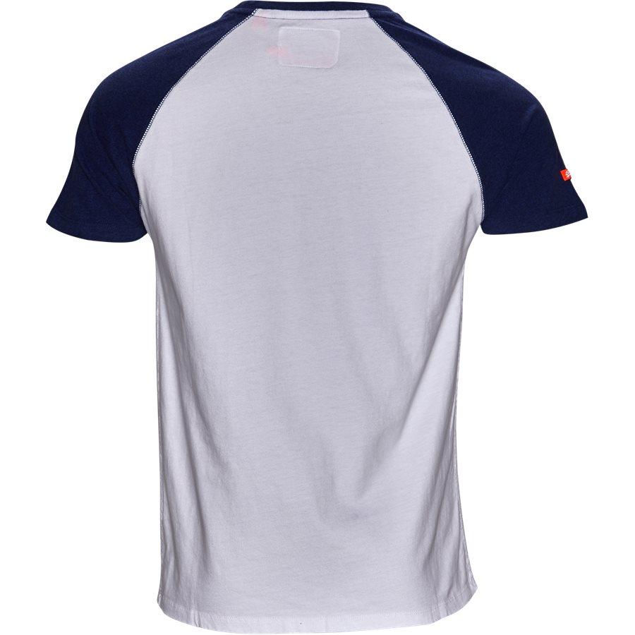 M1000.. - M1000 - T-shirts - Regular - hvid/blå - 2