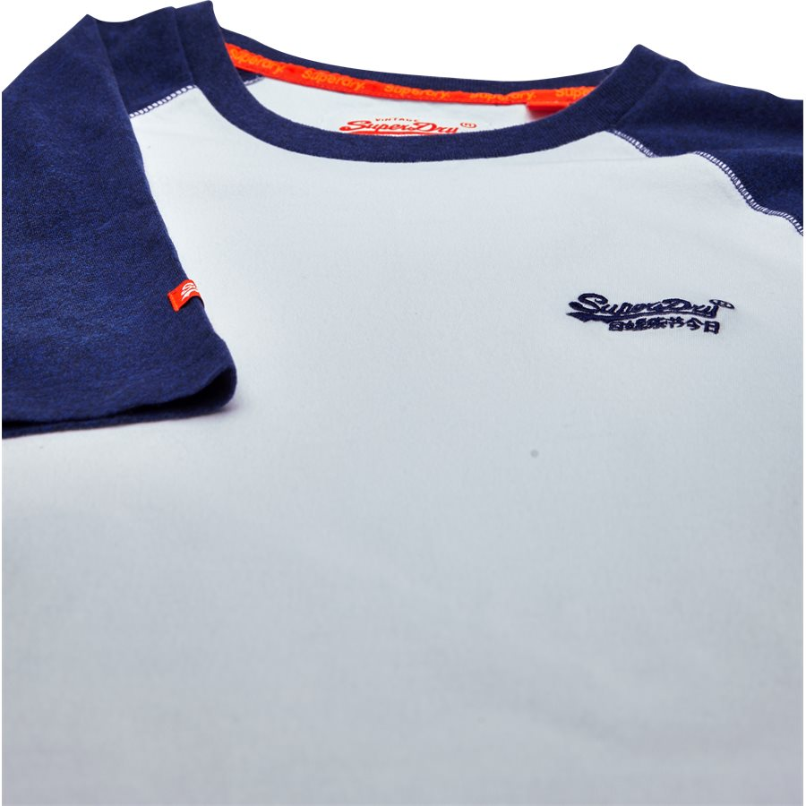 M1000.. - M1000 - T-shirts - Regular - hvid/blå - 3