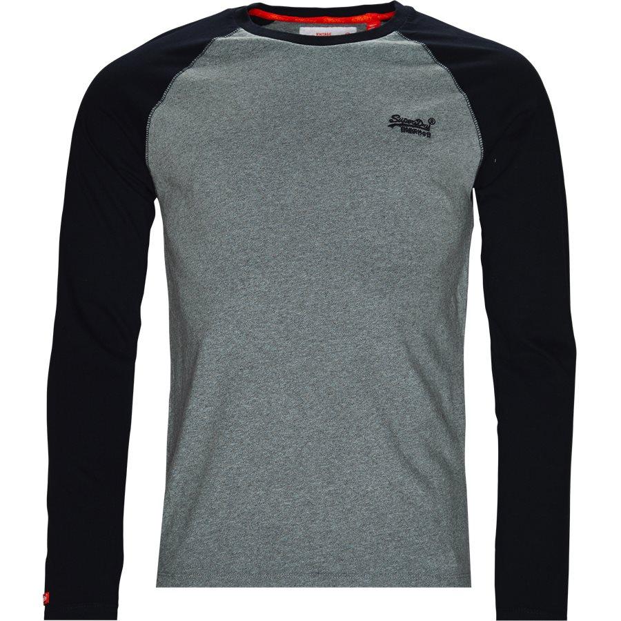 M600 - M600 - T-shirts - Regular - GRÅ/NAVY - 1