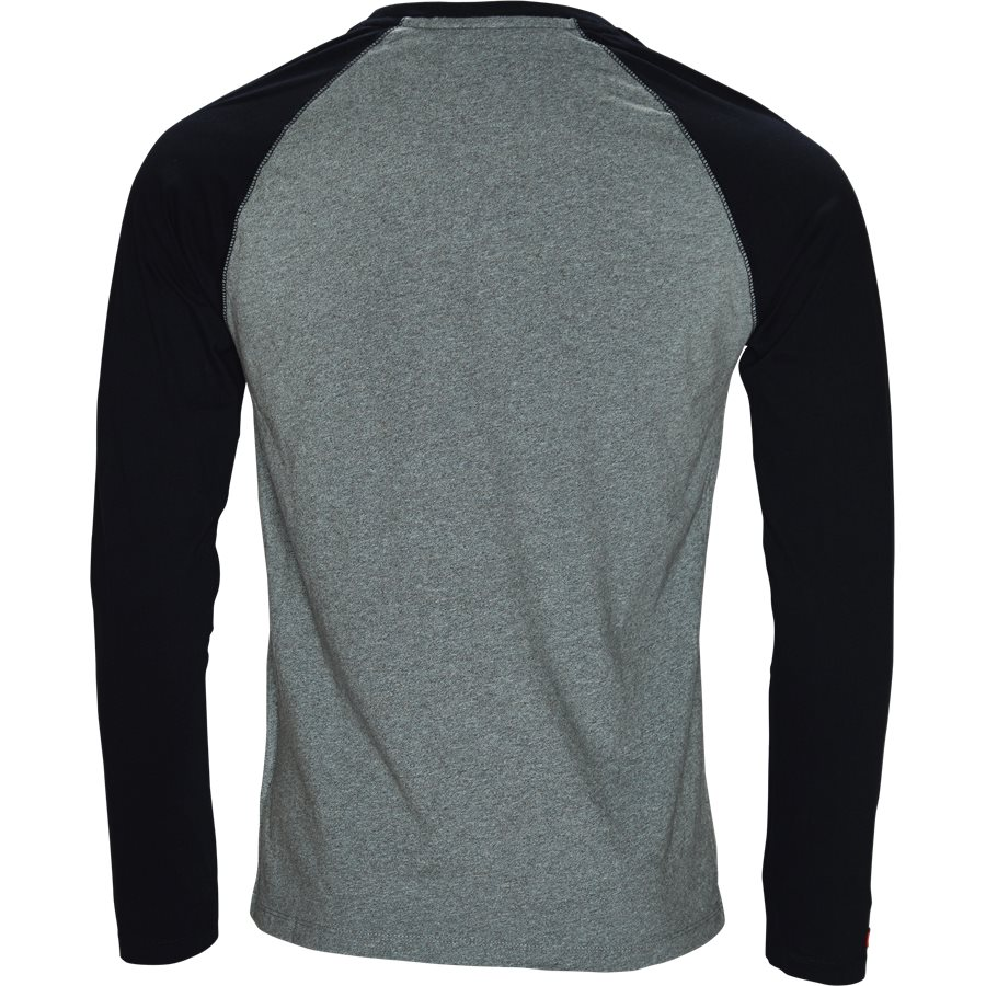 M600 - M600 - T-shirts - Regular - GRÅ/NAVY - 2