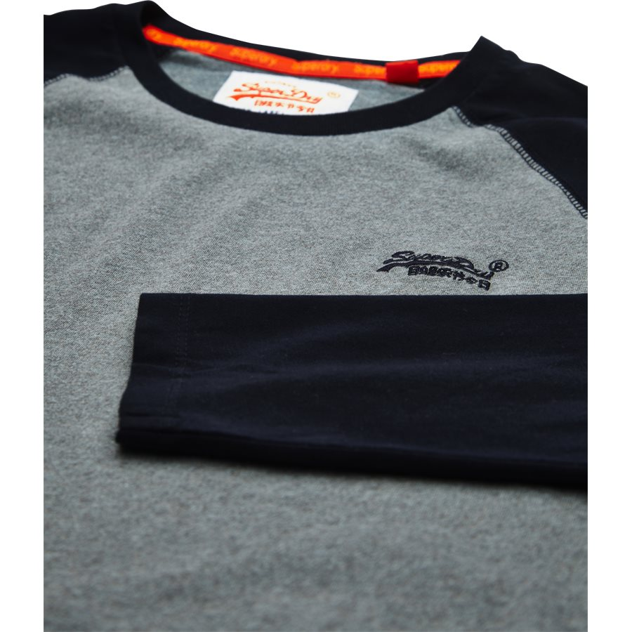 M600 - M600 - T-shirts - Regular - GRÅ/NAVY - 3