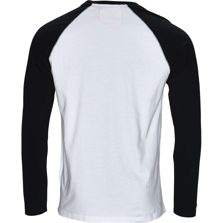 M600 - M600 - T-shirts - Regular - SORT/HVID - 2