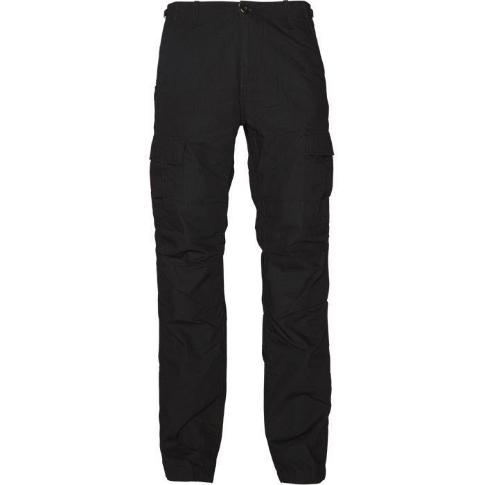 Aviation Pant - Bukser - Regular - Sort