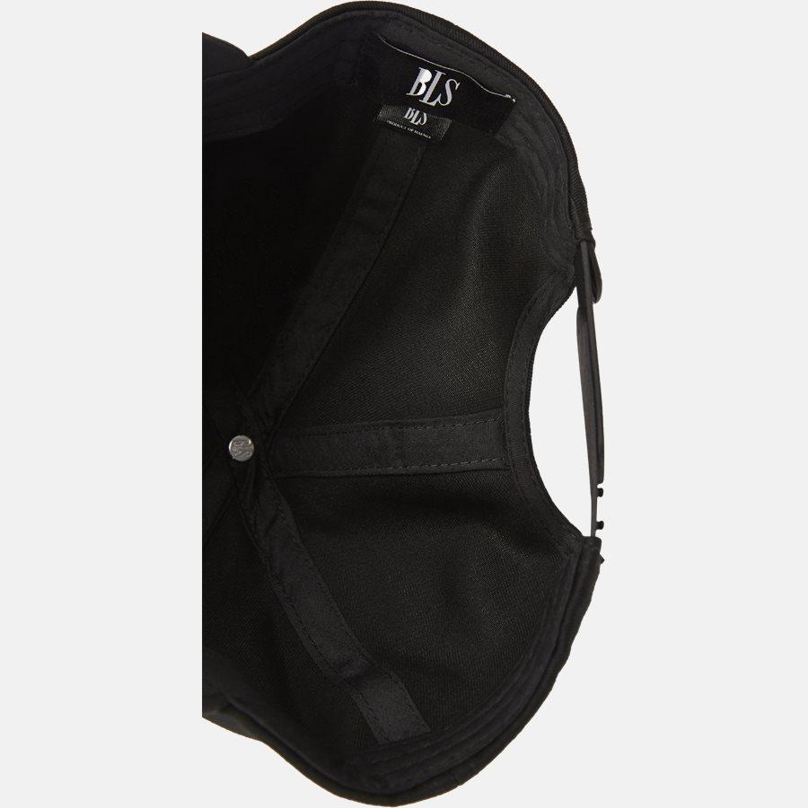 PREMIUM SUEDE BASEBALL CAP - Huer - BLACK - 7