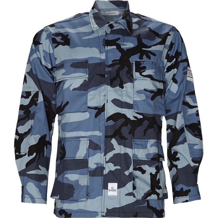 Skjortor - Loose - Blå
