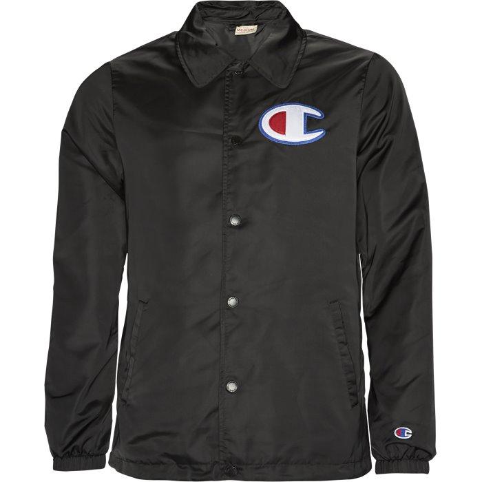 Coaches Jacket - Jakker - Regular - Sort