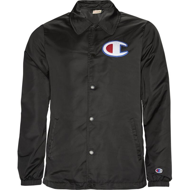 Champion coaches jacket sort fra champion på quint.dk