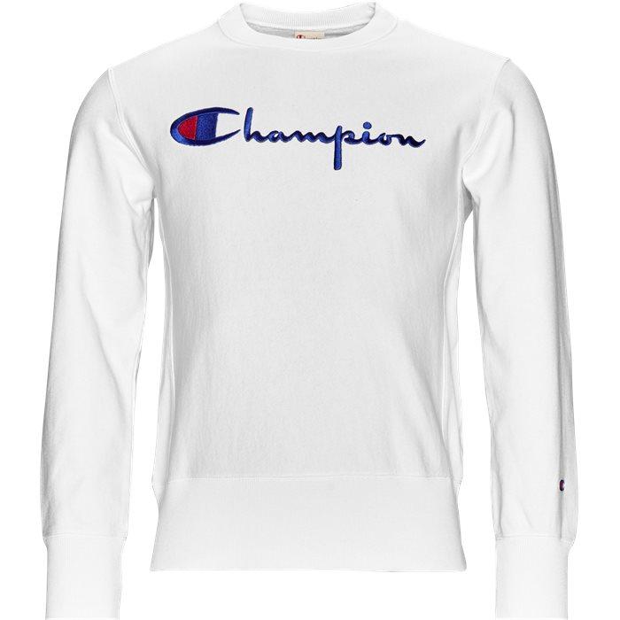 210975 Crewneck - Sweatshirts - Regular - Hvid