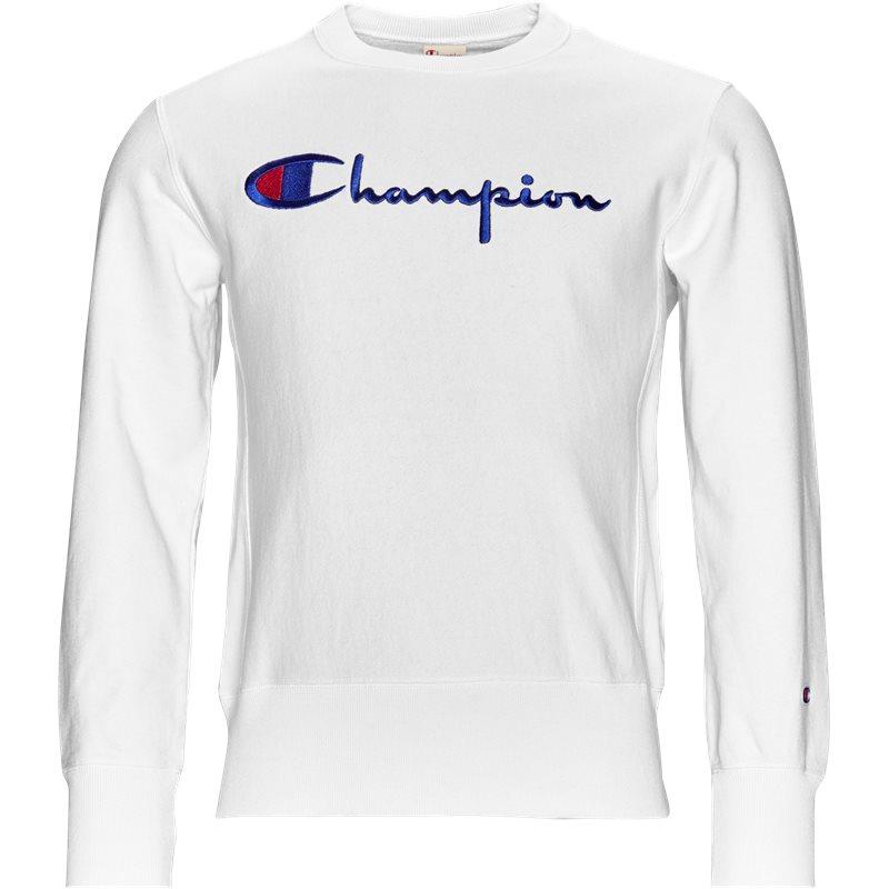Champion crewneck hvid fra champion fra quint.dk