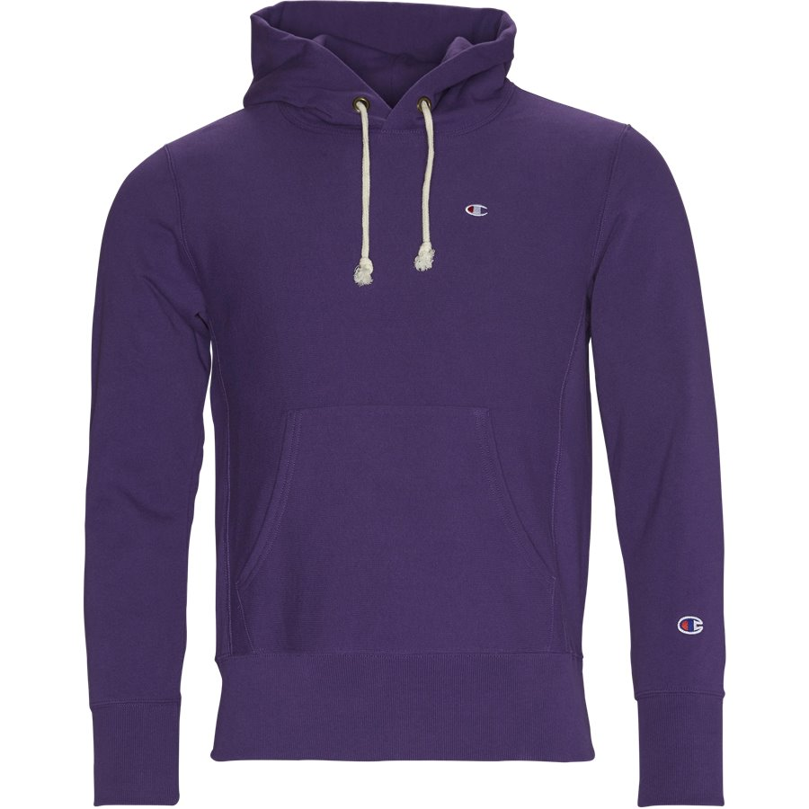 210966 HOODED SWEAT - Hooded Sweatshirt - Sweatshirts - Regular - LILLA - 1