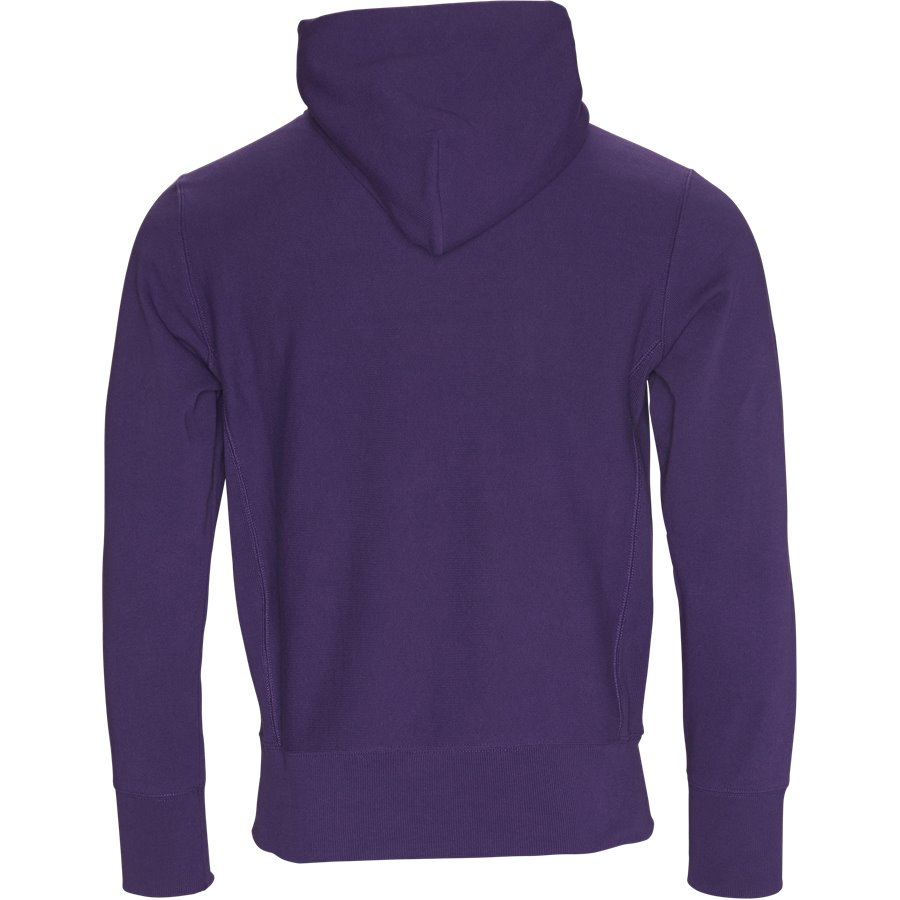 210966 HOODED SWEAT - Hooded Sweatshirt - Sweatshirts - Regular - LILLA - 2