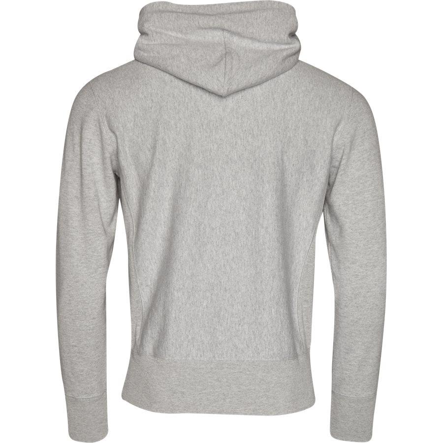 210967 HOODED SWEAT - Hooded Sweatshirt - Sweatshirts - Regular - GRÅ - 2