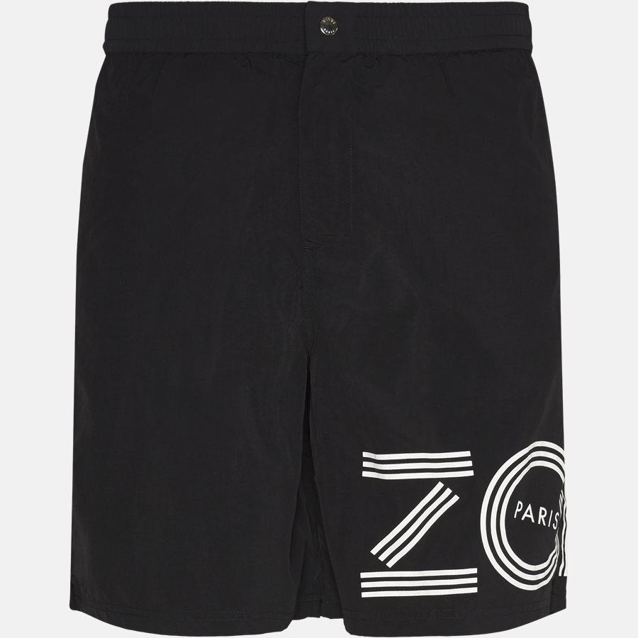 5BA208 - Shorts - Regular fit - SORT - 1