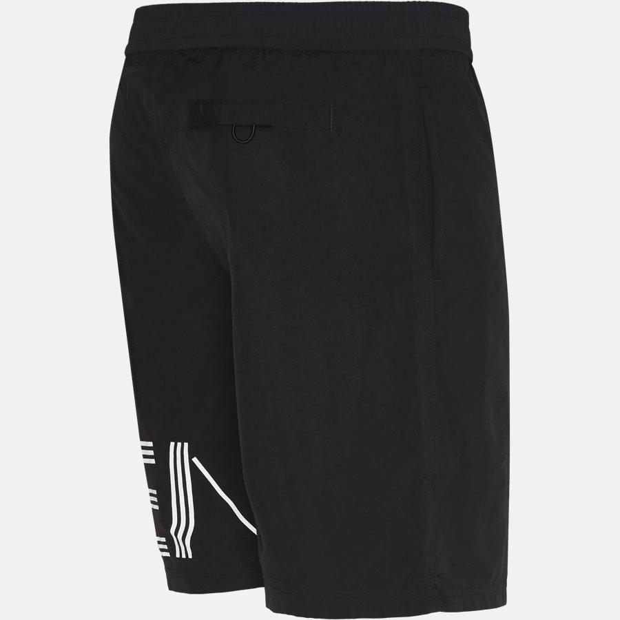 5BA208 - Shorts - Regular fit - SORT - 3