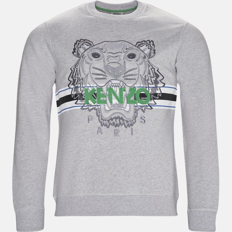 f6968349a6c 5SW078 Sweatshirts GRÅ from Kenzo 1120 DKK