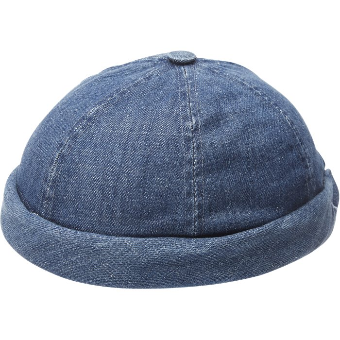 Miki W - Caps - Denim