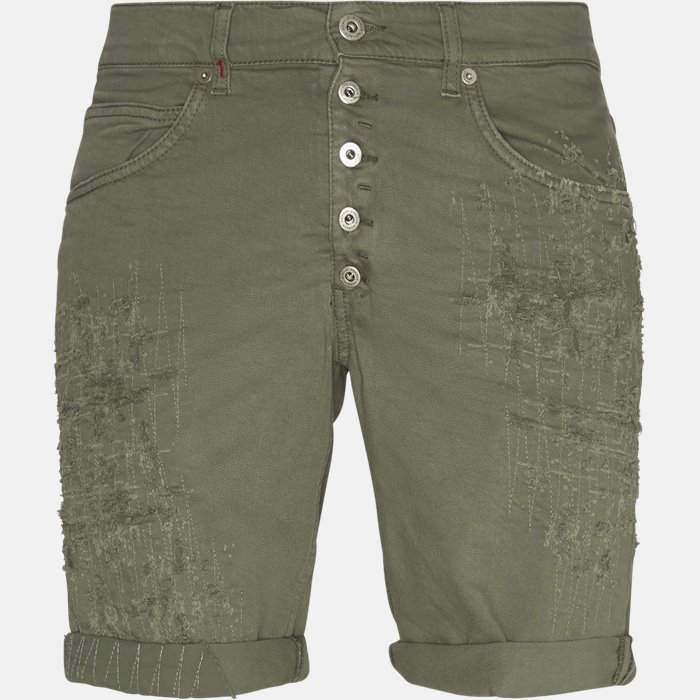 Shorts - Regular fit - Army