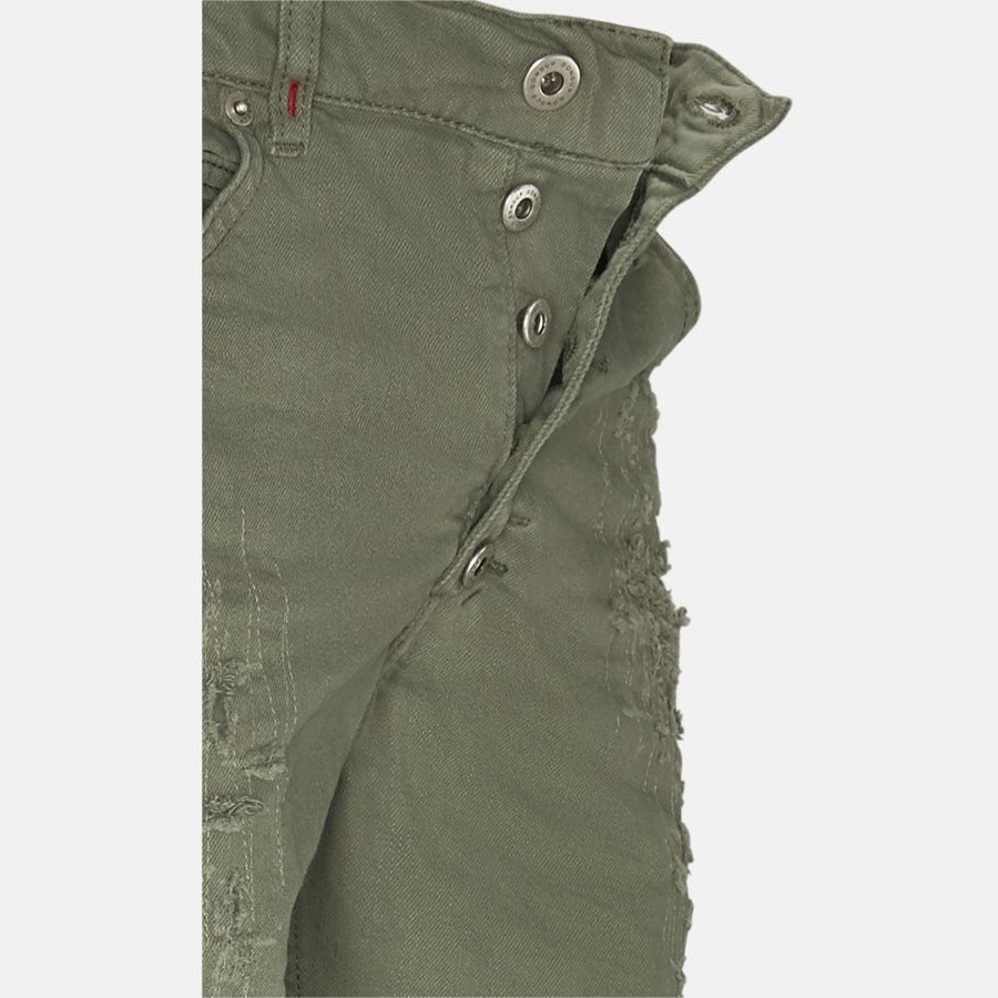 UP334 BS015X S14 - shorts - Shorts - Regular fit - OLIVE - 4