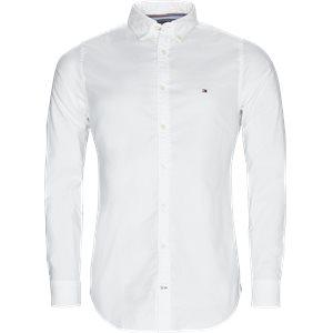 Core Stretch Oxford Skjorte Slim | Core Stretch Oxford Skjorte | Hvid
