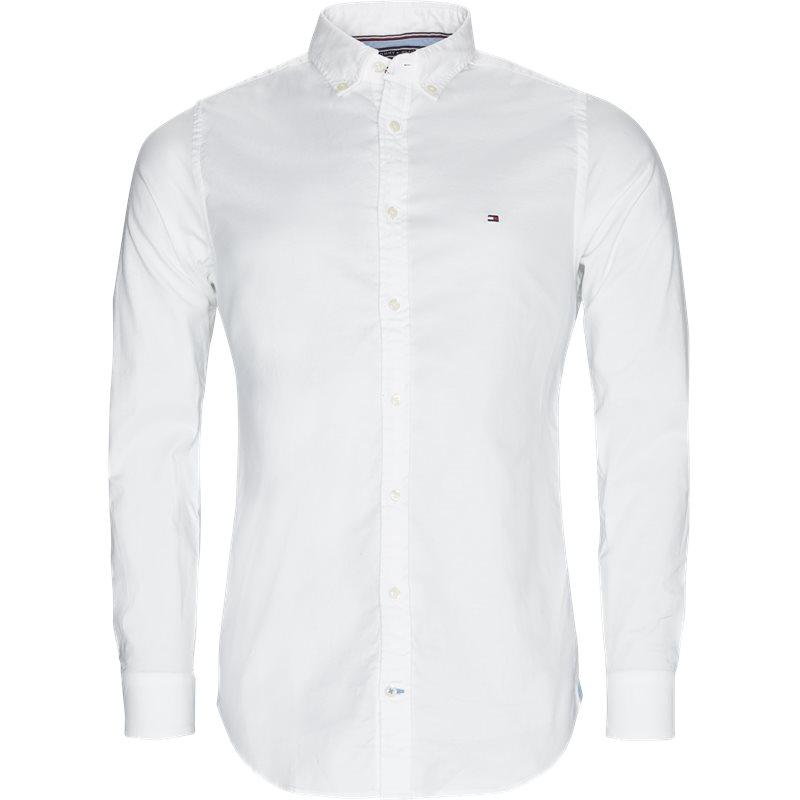 tommy hilfiger Tommy hilfiger - core stretch oxford skjorte på kaufmann.dk