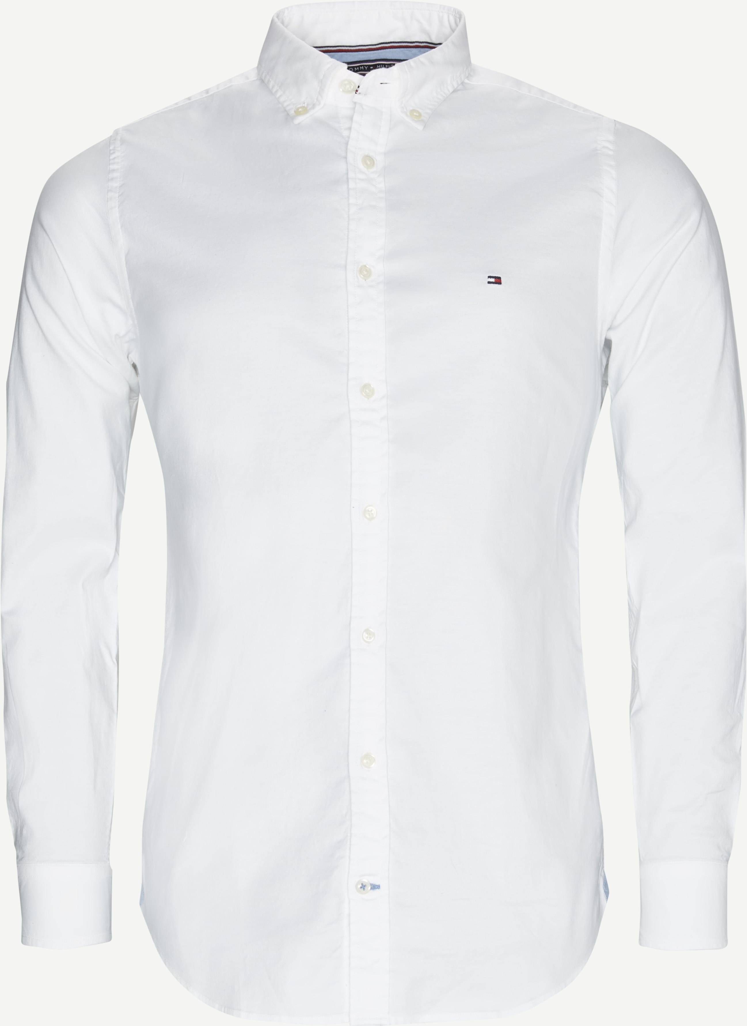 Core Stretch Oxford Skjorte - Skjorter - Slim - Hvid