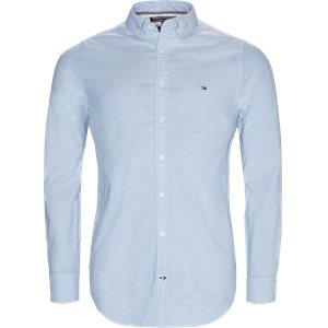 Core Stretch Oxford Skjorte Slim | Core Stretch Oxford Skjorte | Blå