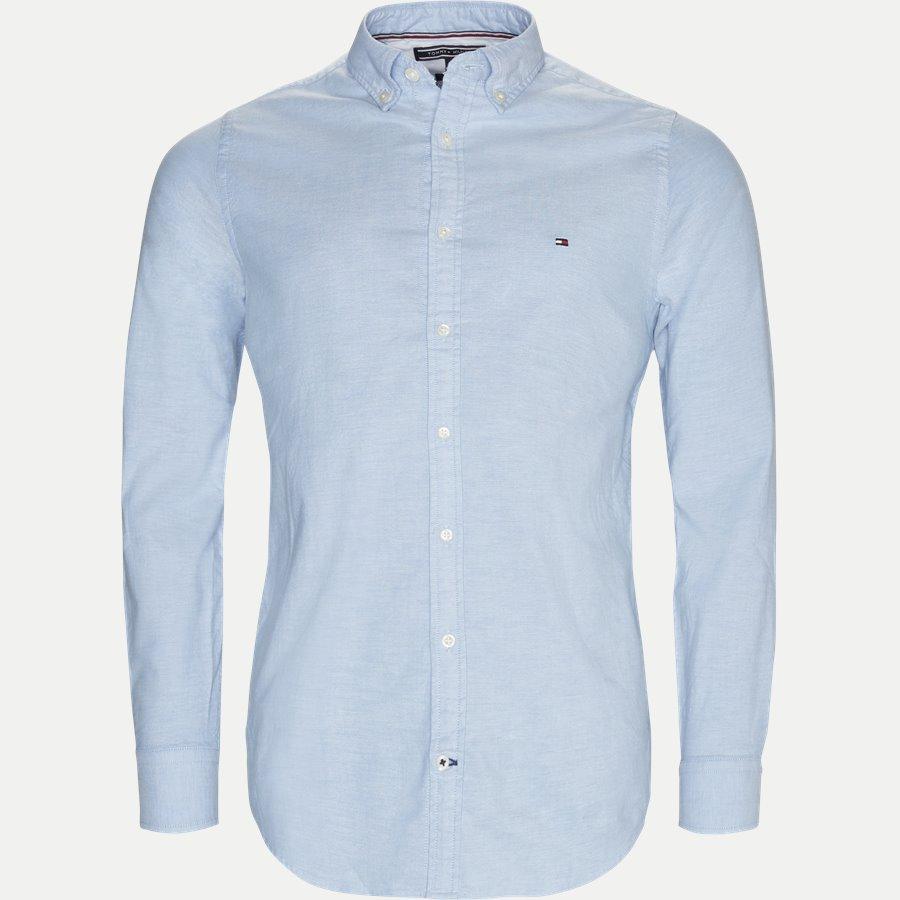 CORE STRETCH SLIM OXFORD - Core Stretch Oxford Skjorte - Skjorter - Slim - LYSBLÅ - 1