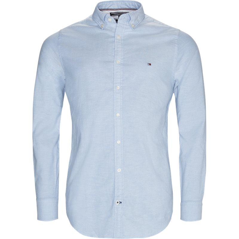tommy hilfiger – Tommy hilfiger - core stretch oxford skjorte på kaufmann.dk