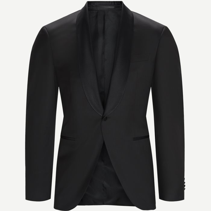Jefron_CYL Smoking Jakke - Blazer - Regular - Sort