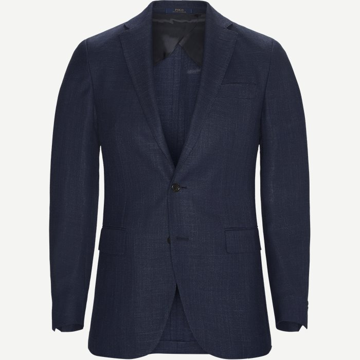 Morgan Textured Soft Sportscoat - Blazer - Slim - Blå