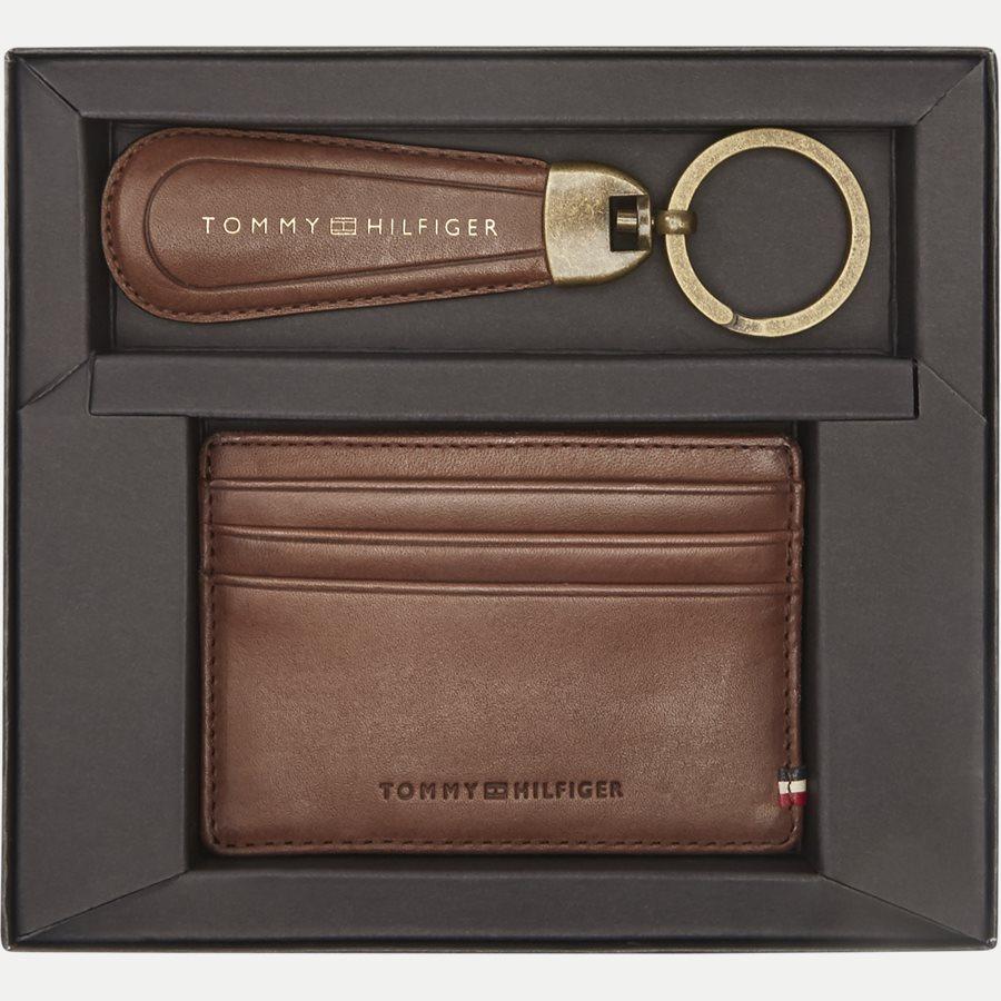 AM0AM02712 HO TH BURNISHED - Gift Box - Kortholder og Skohorn/Nøglering - Accessories - BRUN - 2