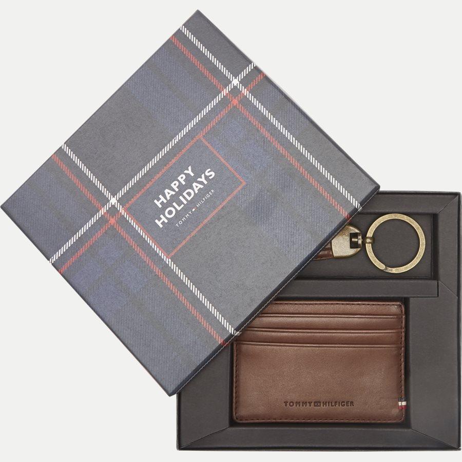 AM0AM02712 HO TH BURNISHED - Gift Box - Kortholder og Skohorn/Nøglering - Accessories - BRUN - 1