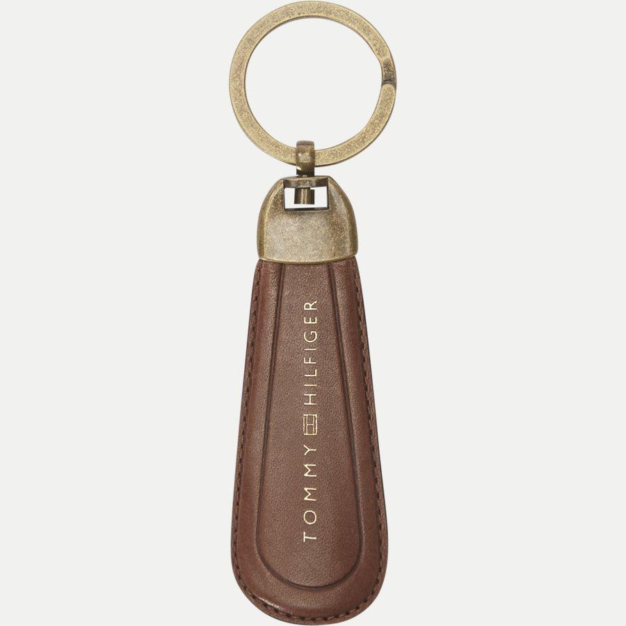 AM0AM02712 HO TH BURNISHED - Gift Box - Kortholder og Skohorn/Nøglering - Accessories - BRUN - 5