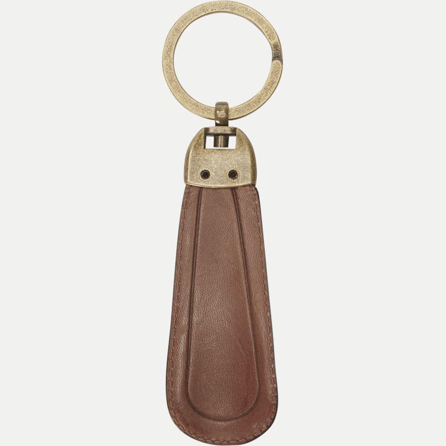 AM0AM02712 HO TH BURNISHED - Gift Box - Kortholder og Skohorn/Nøglering - Accessories - BRUN - 6