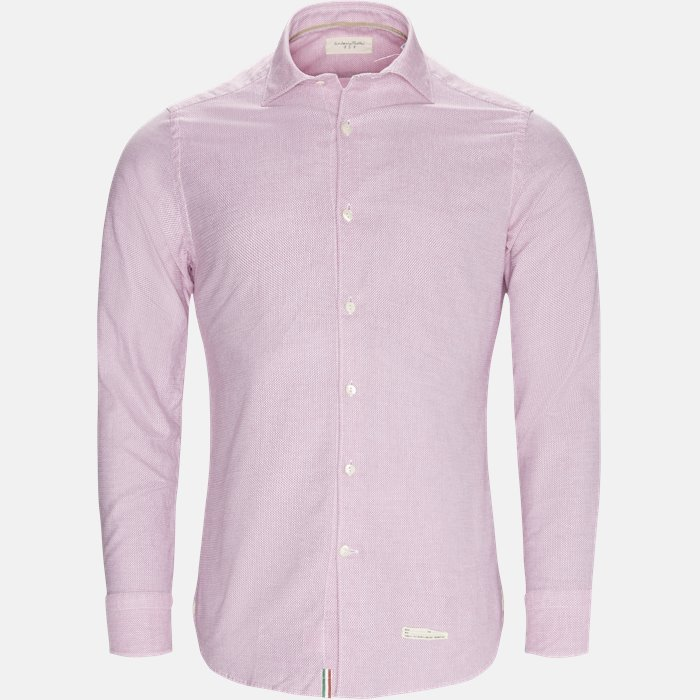 skjorte - Skjorter - Slim - Pink