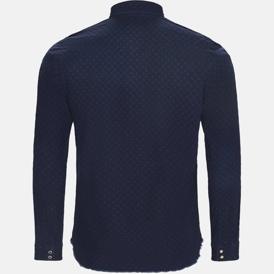 T6H NZ8 - skjorte - Skjorter - Slim - NAVY - 2