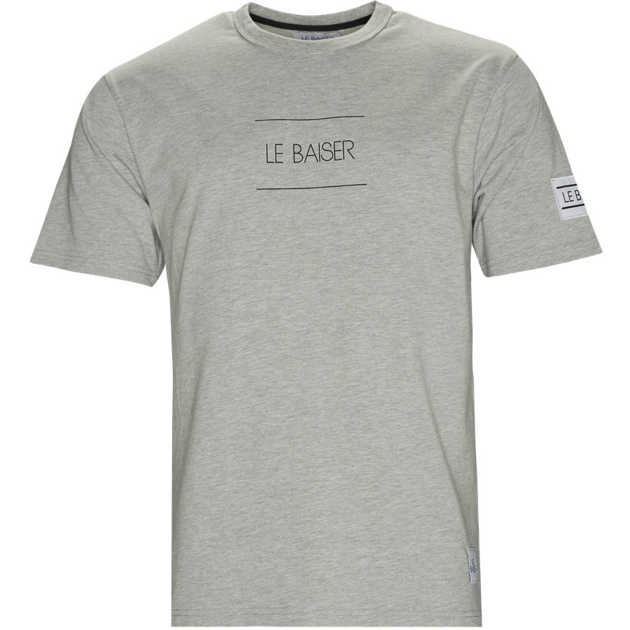 VENTO - Vento - T-shirts - Regular - GREY - 1