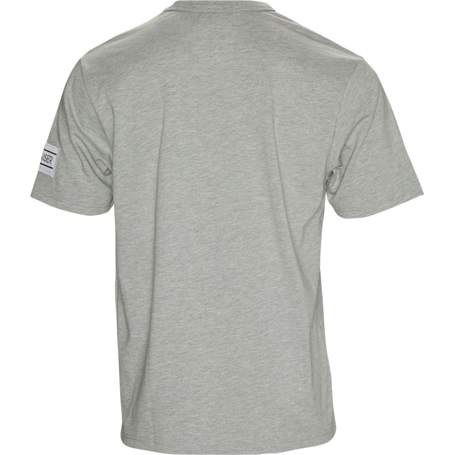 VENTO - Vento - T-shirts - Regular - GREY - 2