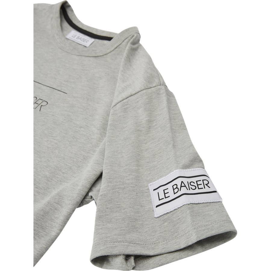 VENTO - Vento - T-shirts - Regular - GREY - 3