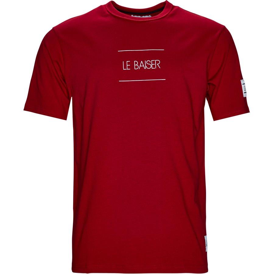 VENTO - Vento - T-shirts - Regular - RED - 1