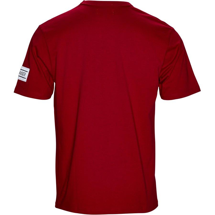 VENTO - Vento - T-shirts - Regular - RED - 2