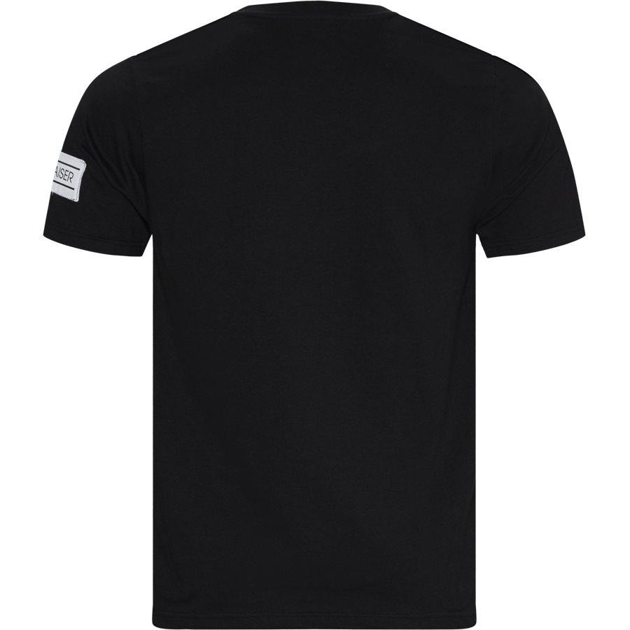 VENTO - Vento - T-shirts - Regular - SORT - 1