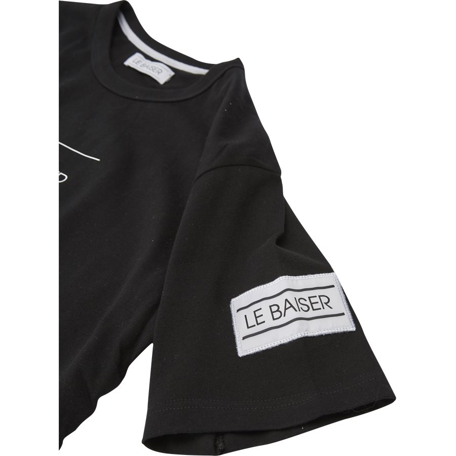 VENTO - Vento - T-shirts - Regular - SORT - 3