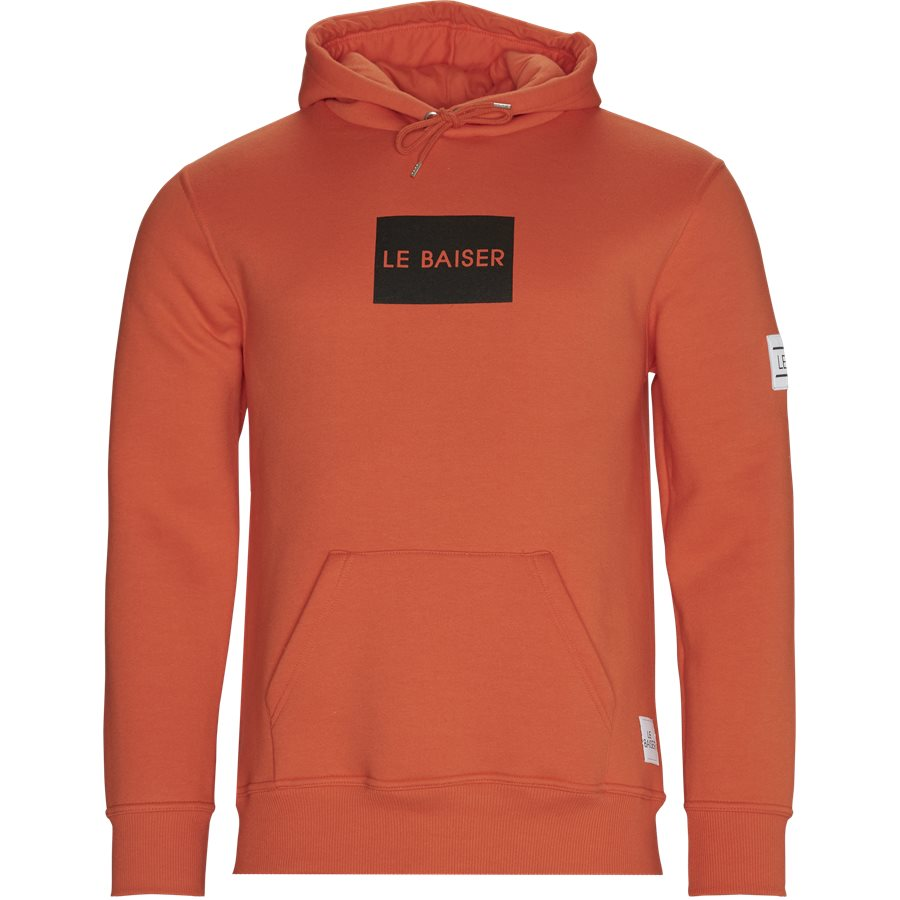 CHATEAUX - Chateaux - Sweatshirts - Regular - ORANGE - 1