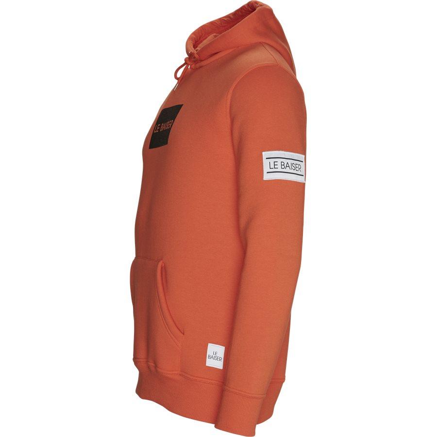 CHATEAUX - Chateaux - Sweatshirts - Regular - ORANGE - 3
