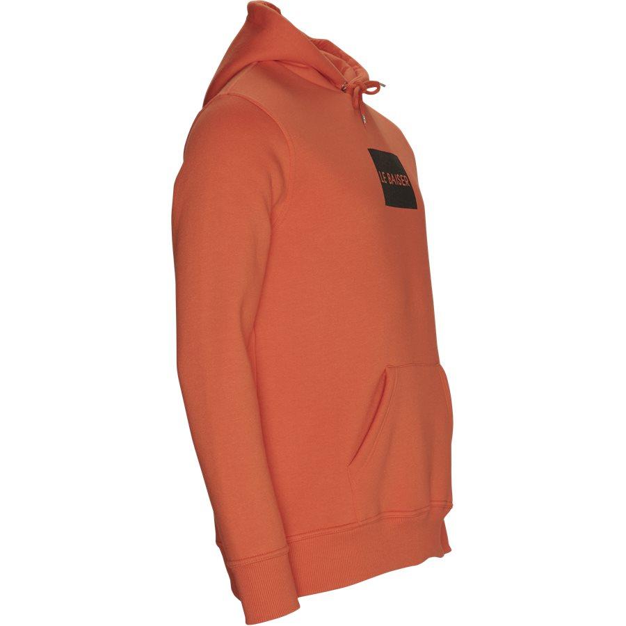 CHATEAUX - Chateaux - Sweatshirts - Regular - ORANGE - 4