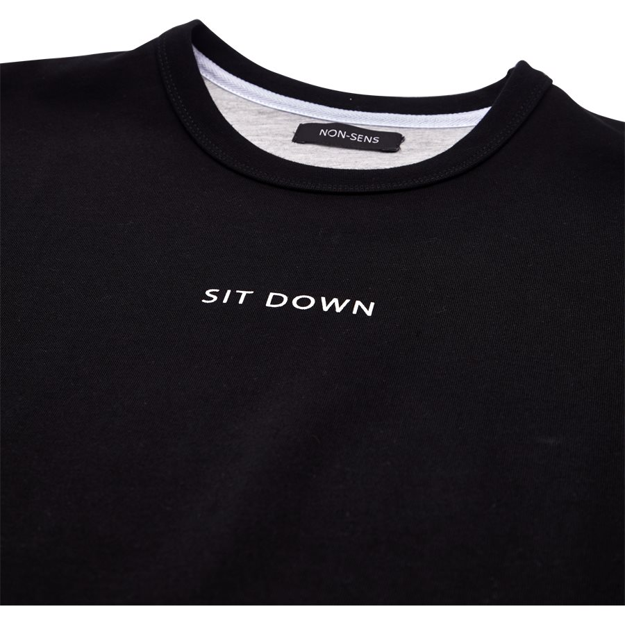 IDAHO - Idaho - T-shirts - Regular - BLACK - 3