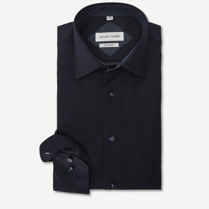 Kane Skjorte - Skjorter - Modern fit - Blå