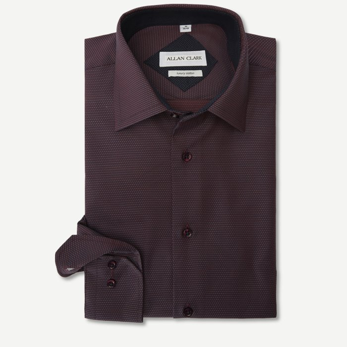 Skjortor - Modern fit - Lila