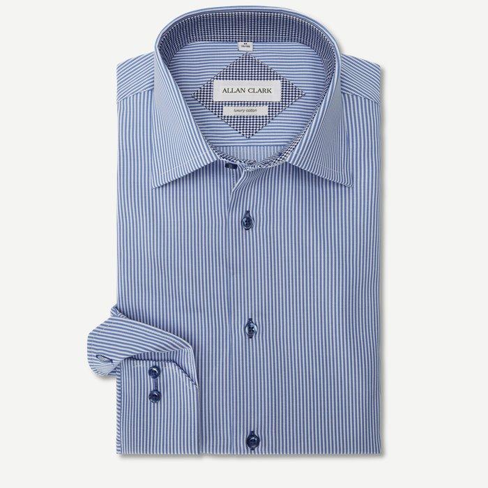 Steward Skjorte - Skjorter - Modern fit - Blå